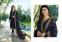 Stylish Straight Cut Salwar Suits