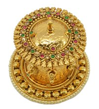 Gold Plated Stylish Sindoor Dabbi
