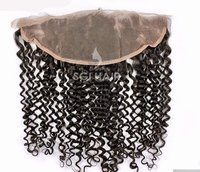 Temple Hair Lace Fronrtal Deep Curly