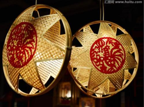 LED Bamboo light