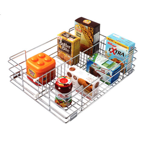 SS Partition Kitchen Basket