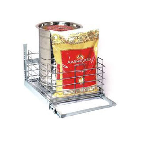 SS Grain Kitchen Basket