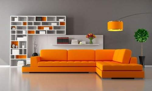 L shape sofa set01