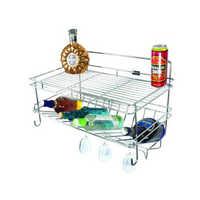SS Wire Kitchen Basket Rack