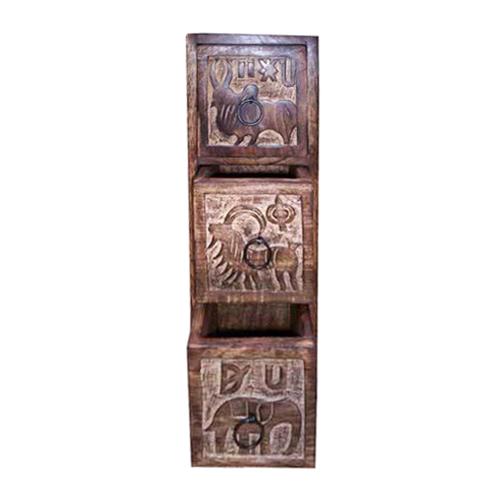 3 Drawer Wooden Cabinet