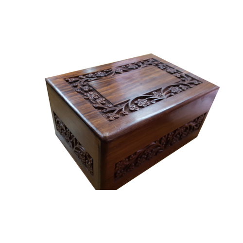 Sheesham Wood Cremation Urn