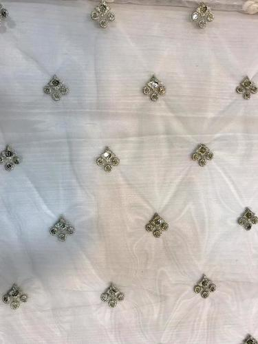 BUTI WORK EMBROIDERY FABRIC