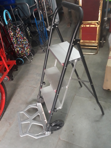 Aluminium Ladder Trolley