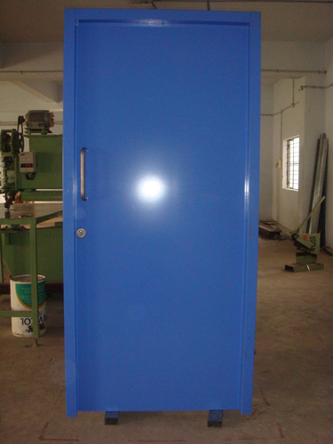 Industrial Entry Metal Door