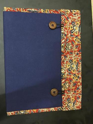 Kalamkari Fabric Folder