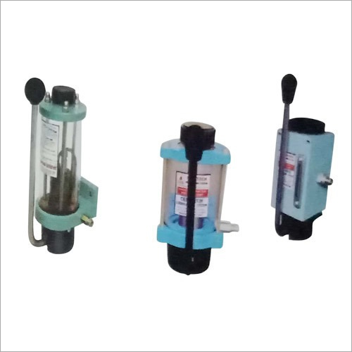 Single Shot Hand Operated Piston Pumps