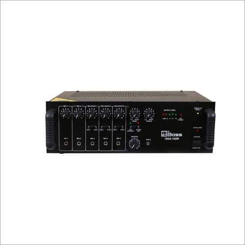 Hitune Bass 160 Watt PA Mixing Amplifier HSSA-160EM
