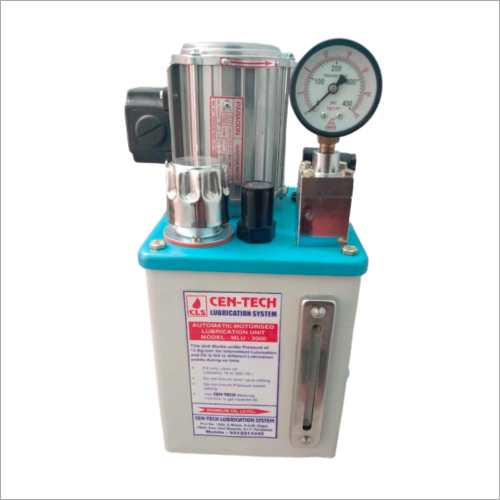 Three Phase Motorized Lubrication Unit
