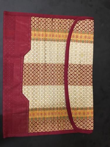 Sabai Grass and Fabric Folder