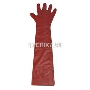 Disposable LDPE Veterinary Gloves