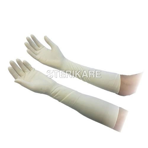 Chlorinated Elbow Length Gloves