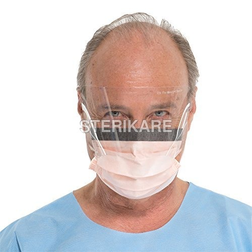 Disposable Mask With Eye Shield