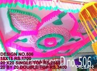 Marquee ceiling decorations