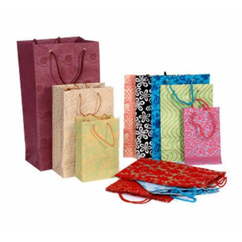 Loop Handle Designer Paper Bag