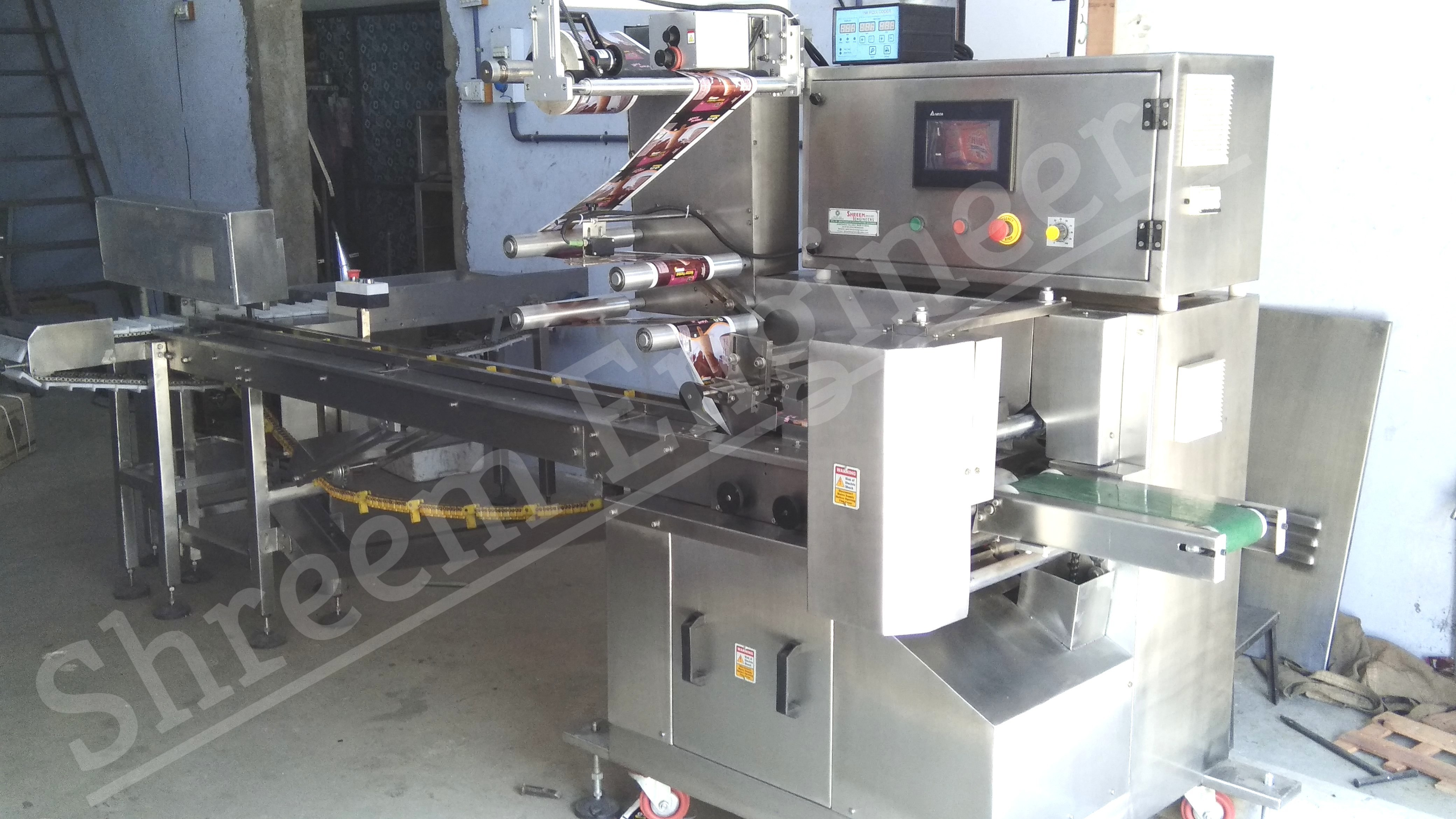 Fully Automatic Ice Candy packing Machine