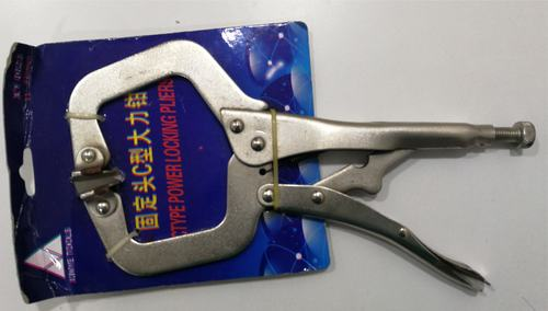 C CLAMP PLIER