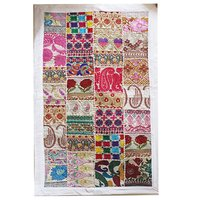 Wall Hanging Multi Color Designer Cotton Patchwork Table Runner