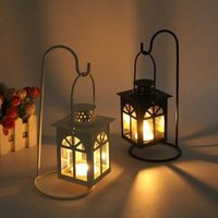 Classic Candle Stand Wrought Iron Pillar