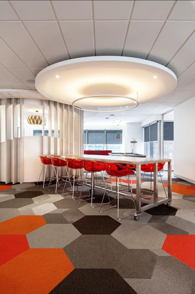 Hexagonal Carpet Tiles