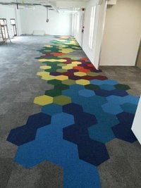 Hexagonal Carpet Tiles