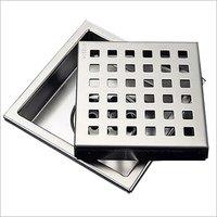 150MM Square Floor Trap