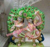 Marble Radha Krishan Dancing Statue