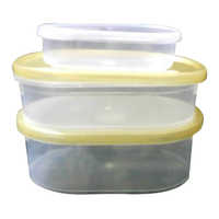 Plastic Oval Boxes