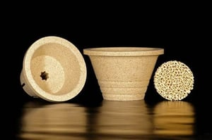 Ceramic Cup for Foundry