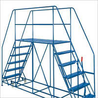 Double Platform Ladder