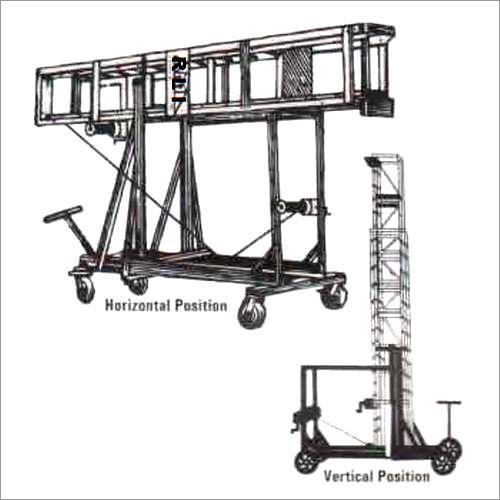 Aluminium Tiltable  Telescope Tower Extension Ladder