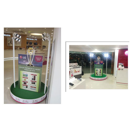 Customized Backlit Self Standing Standee
