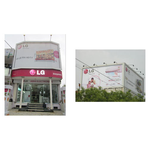 Front Facade LED Signage
