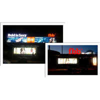 LED Bus Shelter