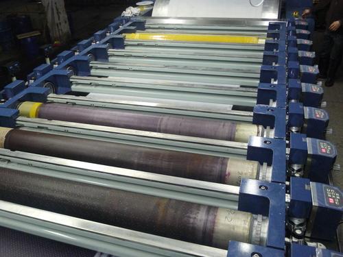 12 colors rotary screen printing machine
