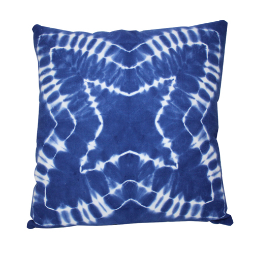 Star Tie Die Cushion Cover