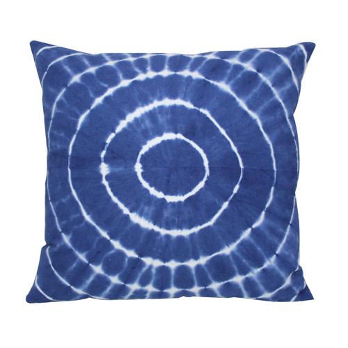 Round Tie Die Cushion Cover