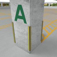 Pillar / Corner Guard (D Shape)