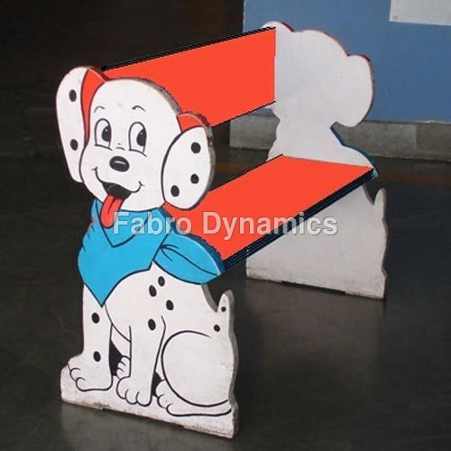 Kids Two Seater Pre School Bench