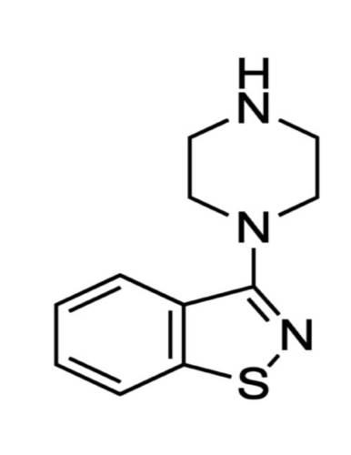 3-(1-Piperazinyl)-1,2 benzisothiazole