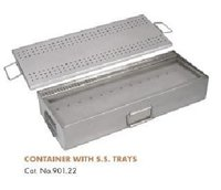 Container With SS Tray
