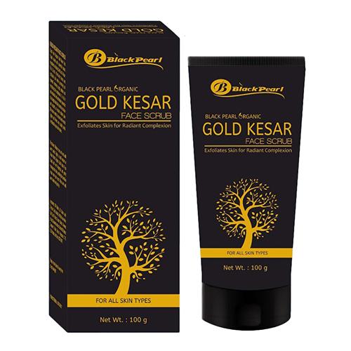 Gold Kesar Face Scrub