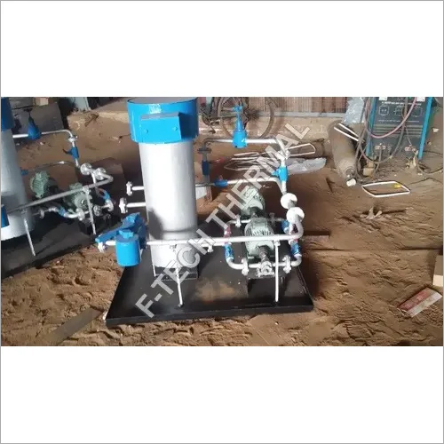 Heating and Pumping unit