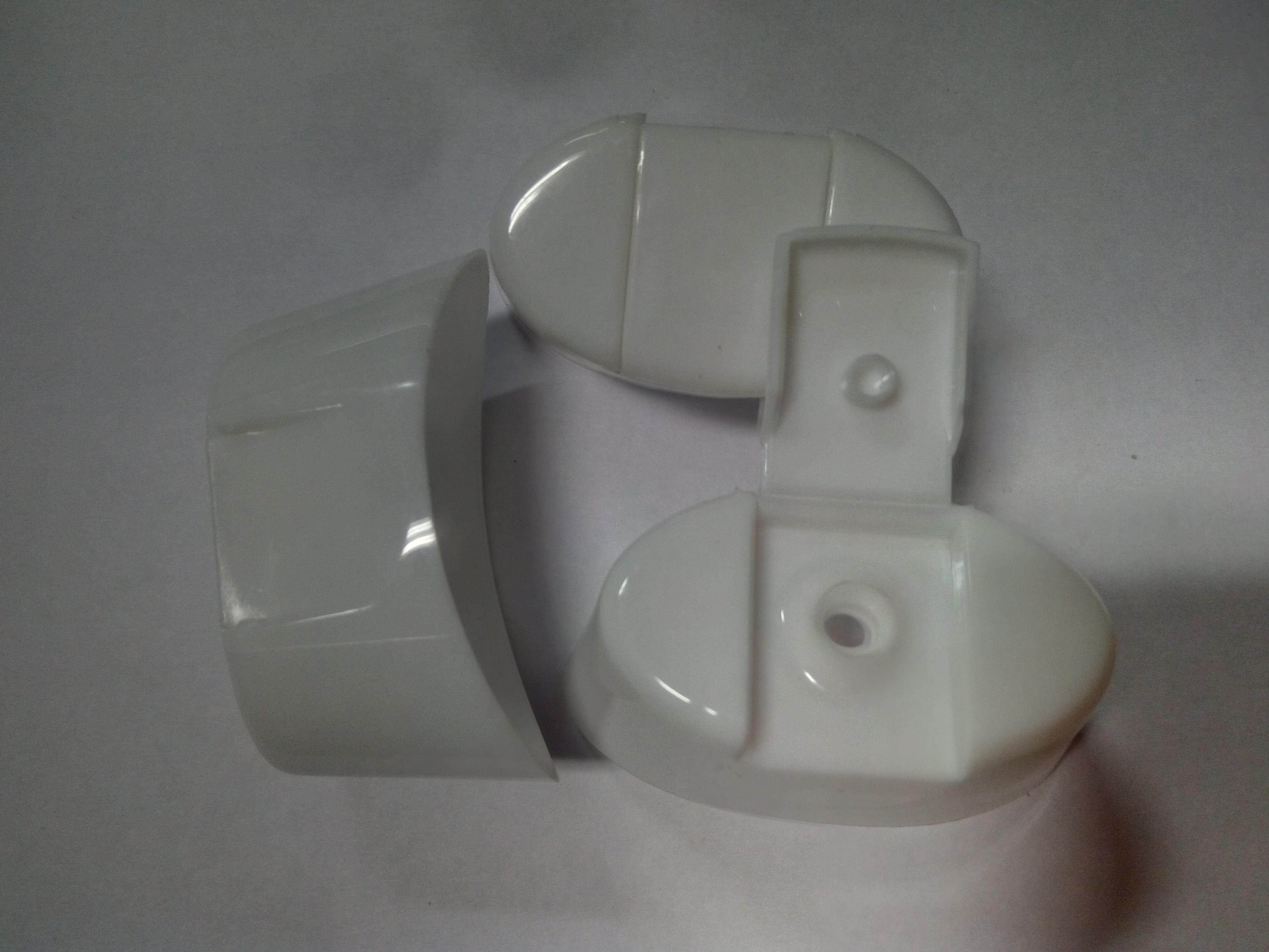 Glossy Oval Shape Top Cap