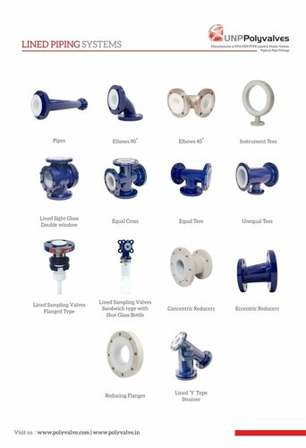 Lined Pipes and Pipe Fittings