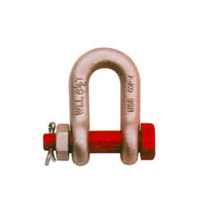 Copper D Shackle